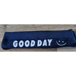 "Gästehandtuch Navy ""Good Day"""